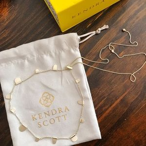Kendra Scott Olive Necklace in Gold
